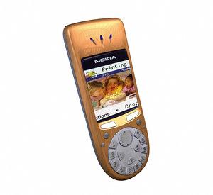 nokia phone 3d model