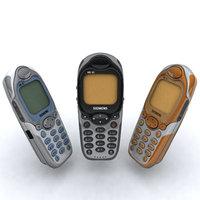 siemens me45 phone 3d model