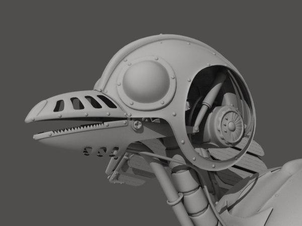 mechanical bird lwo