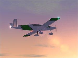 gmax aircraft 3d model