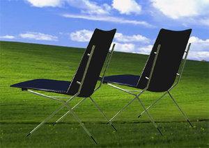 ligne roset chair 3d model