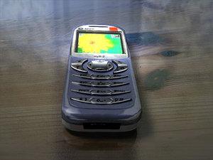 3d sagem mobile phone model