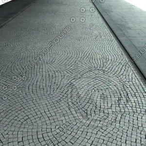 Modern Cobblestone Street and Sidewalk Medium resolution.jpg