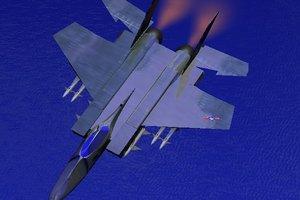 cinema4d aircraft fd-tiger