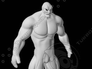 human humanoid 3d lwo