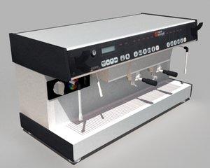 nuova espresso machine 3d model