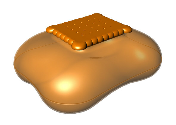 mary biscuit 3d model