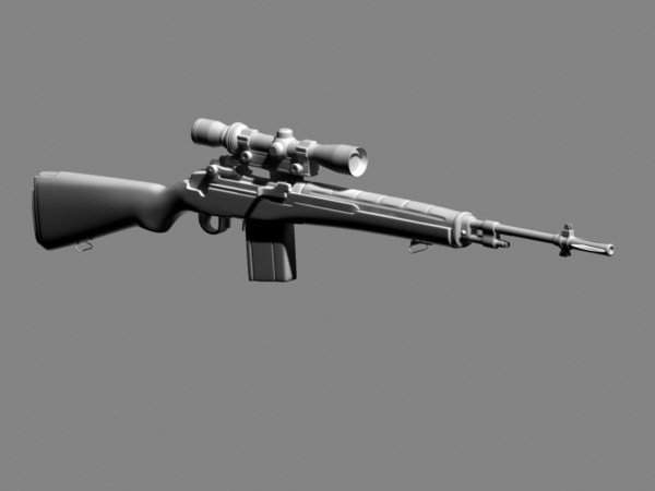 m1 3d model