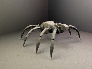 free 3ds mode robo-spider robo spider