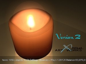 3d candle way