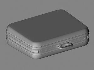 suitcase suit 3d model