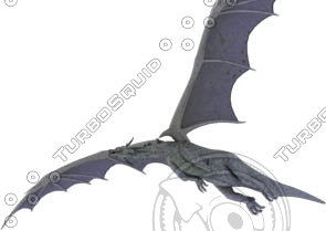 3d model of dragon