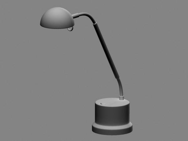 3d model bendy lamp