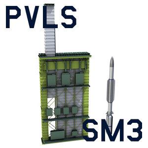 missile mk 57 3d model