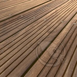 Exotic Grooved Wood Floor ---------------- High Resolution