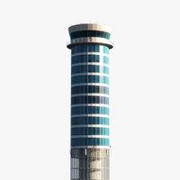 3D bangkok air control tower