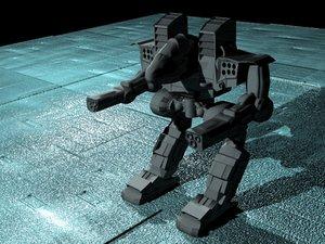mech assault 3d model