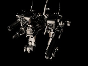 3ds max dragonfly mech