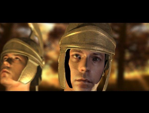 3d model gladiator helmet