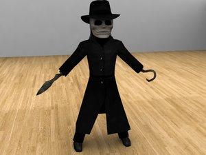 3d blade puppet master