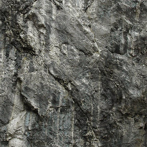 High resolution Rock Face Wall 11 + Normal Map
