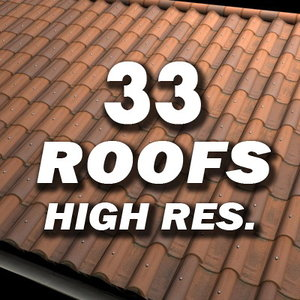 roofs resolution 3d model