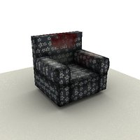 chair 3d 3ds