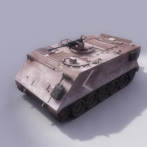 113 aroured carrier 3d odel