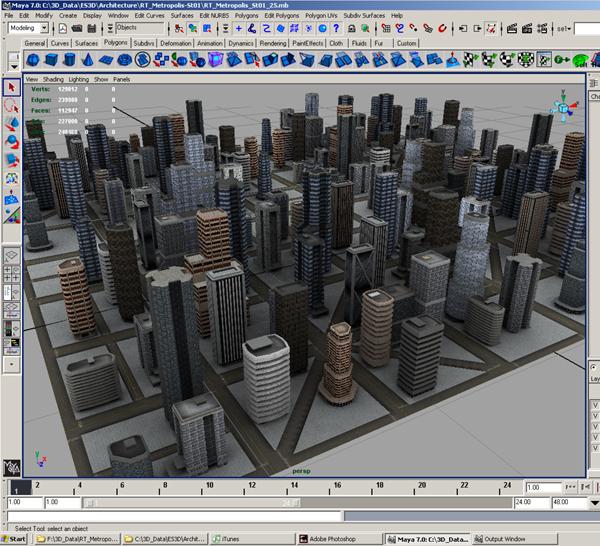 city environment buildings construction ma