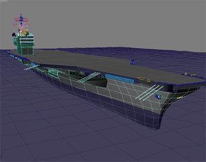 3d model aerocarrier