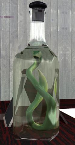 lightwave snake bottle alcohol
