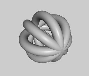 free simple ball 3d model