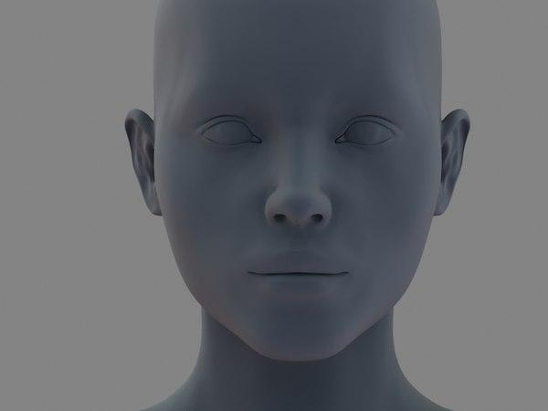 woman body 3d model