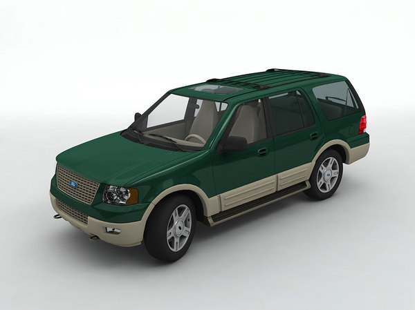 3D 2003 expedition suv