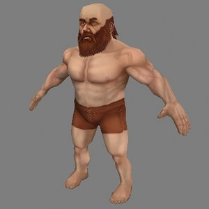 3d model human fantasy