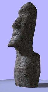 stone statuary easter island max