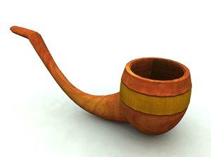 3d model pipe bryce vue