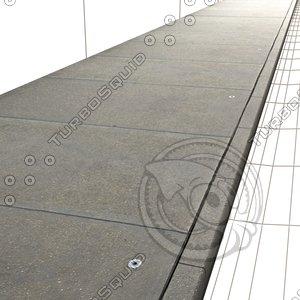 Concrete Sidewalk Texture ------------------ High Resolution