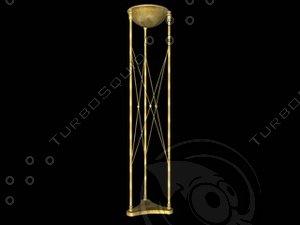3d roman lamp