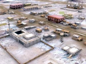 arab-town arab city town 3ds