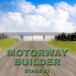 motorway road rt 3d 3ds