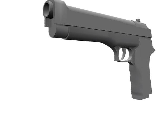 free model pistol
