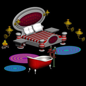 3d santa bedroom pzsg scl3