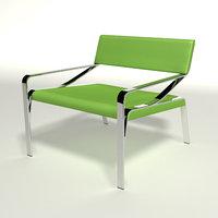 3d max emi chair design