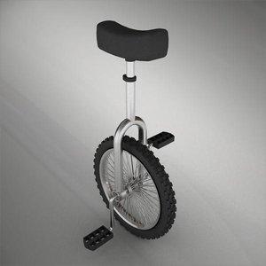 unicicle 3d model