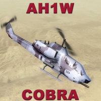 3d gunship helicopter cobras model
