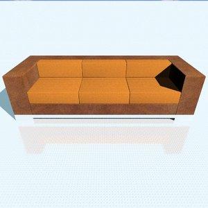 3d soma sofa artefacto