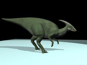 3ds max parasaurolophus walkeri