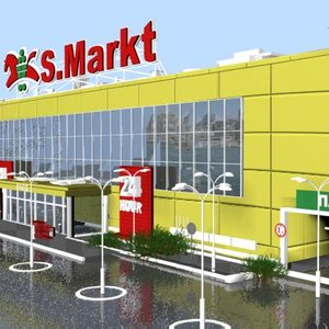 maya supermarket building