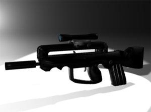 max famas assault rifle